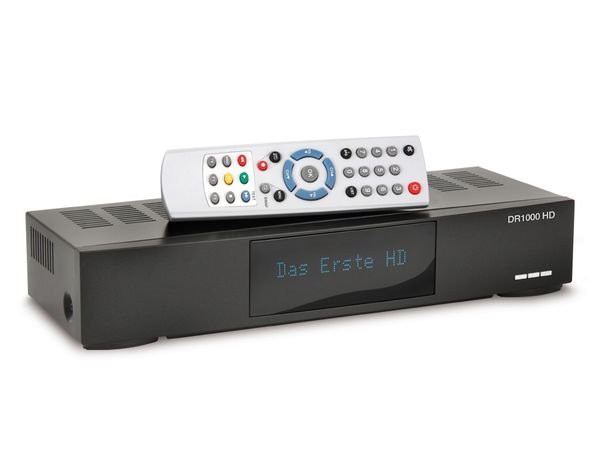 SAT HDTV-Receiver mit Ethernet DR1000HDE, PVRready - Produktbild 1