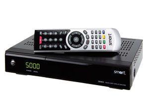 SAT HDTV-Receiver SMART CX04CI, PVRready - Produktbild 1