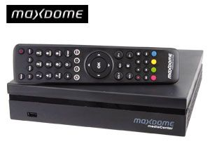 HDTV Hybrid-Receiver MAXDOME MediaCenter, DVB-T, 160 GB - Produktbild 1