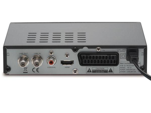 SAT HDTV-Receiver mit Mediaplayer NEWline HD22 - Produktbild 3