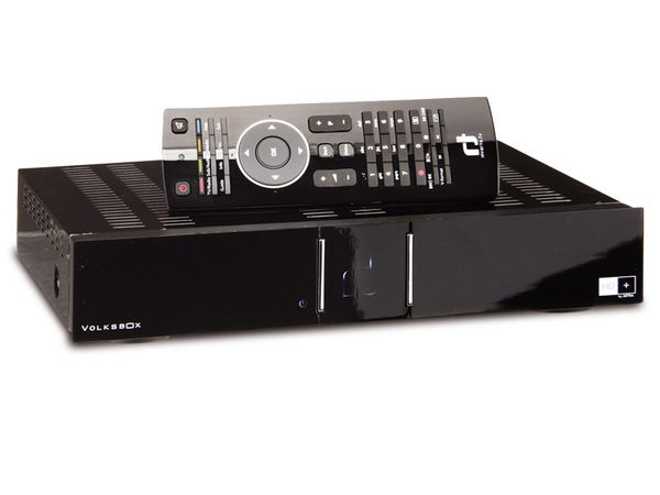 HD+ SAT Hybrid-HDTV-Receiver INVERTO VOLKSBOX Web Edition - Produktbild 1