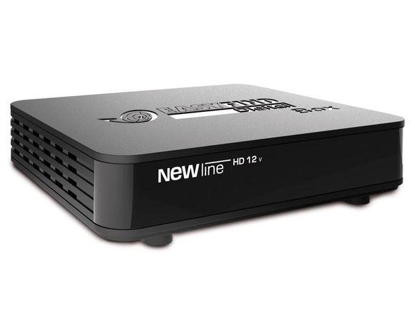 SAT HDTV-Receiver mit Mediaplayer NEWLINE HD12V - Produktbild 1