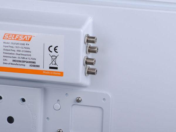 SAT-Flachantenne SELFSAT H30D4, Quad - Produktbild 5