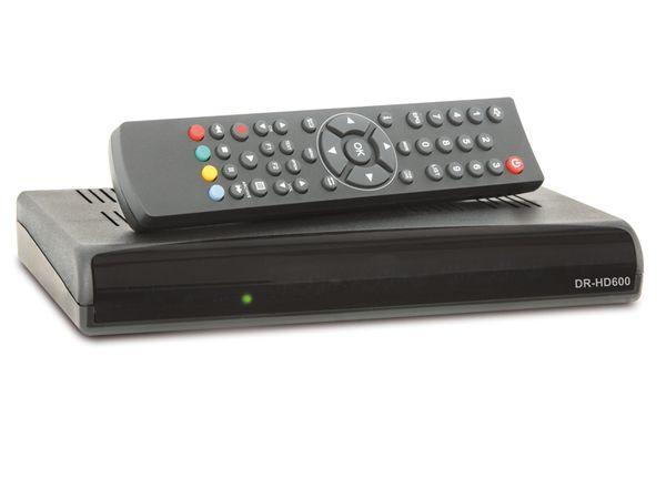SAT HDTV-Receiver DR-HD600, PVRready - Produktbild 1