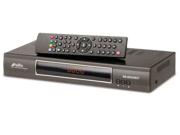 DVB-S/DVB-T/DVB-C HDTV Kombi-Receiver DR-HD433SCT
