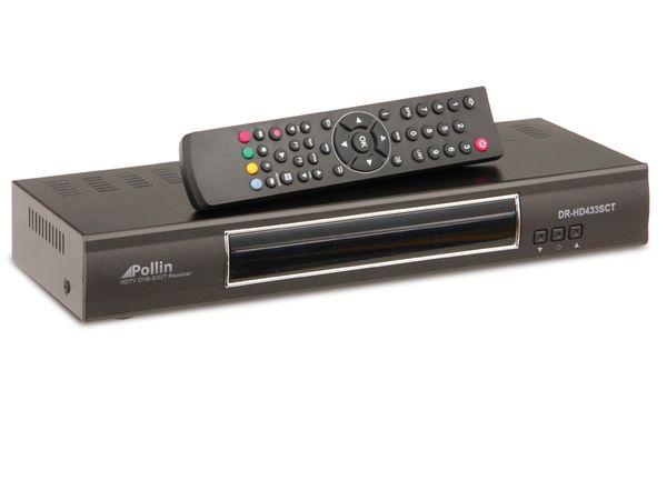 DVB-S/DVB-T/DVB-C HDTV Kombi-Receiver DR-HD433SCT - Produktbild 2