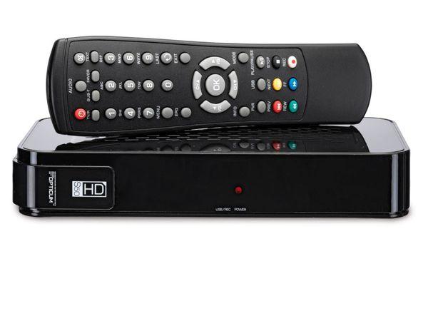 SAT HDTV-Receiver mit Mediaplayer OPTICUM HD S50 - Produktbild 1