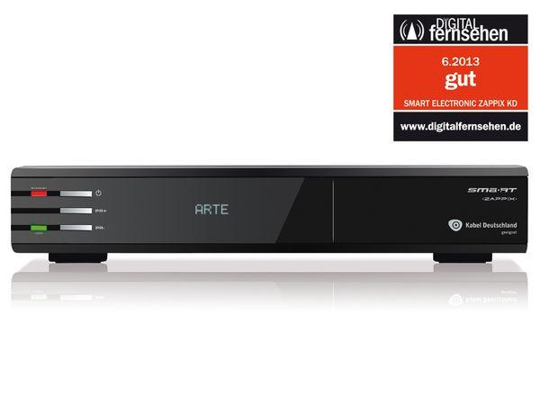 DVB-C HDTV-Receiver SMART ZAPPIX KD, PVRready - Produktbild 1