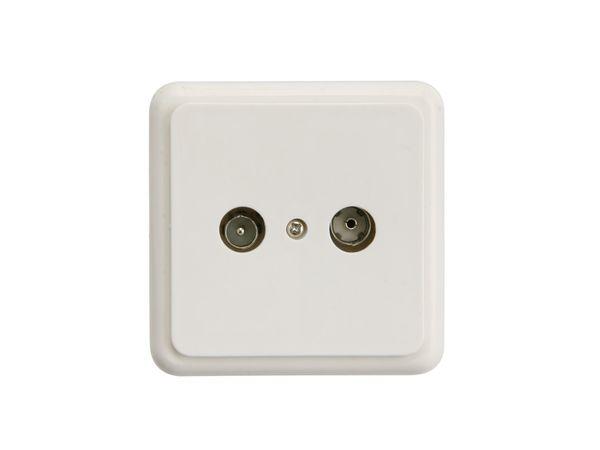 Antennen-Durchgangsdose ELRO CX101/CX102