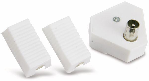 Radio-Antennenverteiler mit Steckersatz, 2-fach - Produktbild 2