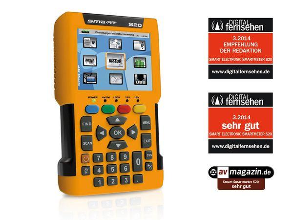 SAT-Messgerät SMARTMETER S20 (DVB-S2) - Produktbild 1