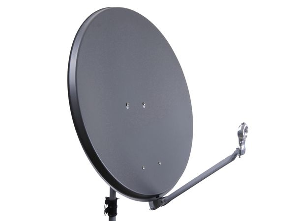 SAT-Antenne New GoldEdition DishAlu, anthrazit, 75 cm - Produktbild 1