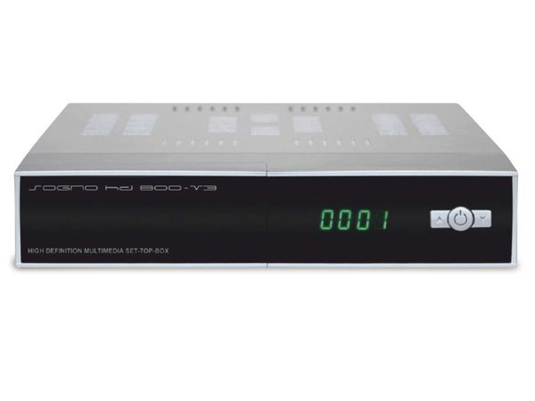 DVB-S HDTV-Receiver SOGNO HD800 V3 - Produktbild 1