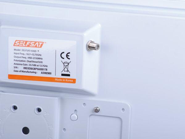 SAT-Flachantenne SELFSAT H30D+, Quad - Produktbild 4