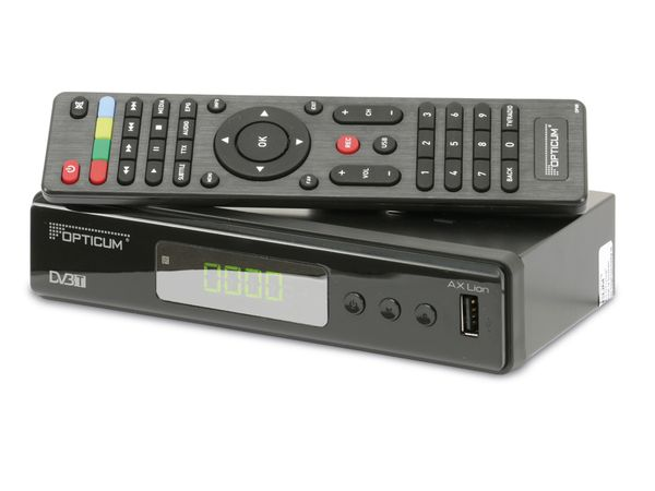 DVB-T HDTV-Receiver OPTICUM AX LION - Produktbild 1