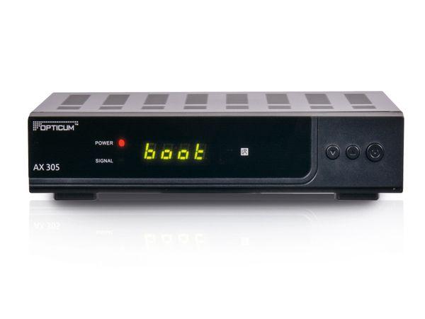 SAT HDTV-Receiver OPTICUM HD AX 305, PVRready - Produktbild 1