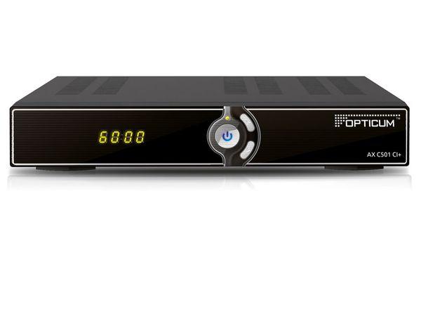 DVB-C HDTV-Receiver OPTICUM HD AX C501 - Produktbild 1