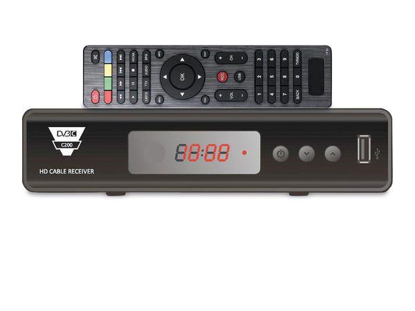 DVB-C HDTV-Receiver RED OPTICUM HD C200