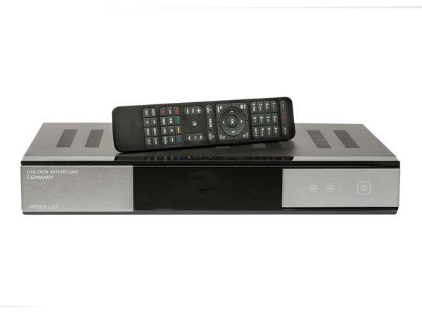 DVB-S HDTV Receiver GOLDEN INTERSTAR XPEED LX 3 - Produktbild 1