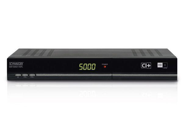 SAT HDTV Receiver SCHWAIGER DSR 6902 HDPL, HD+