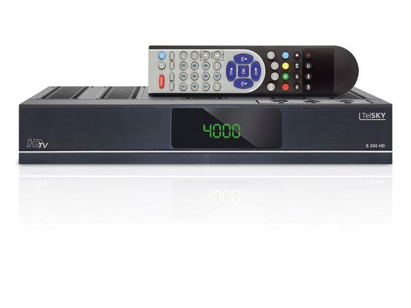 SAT HDTV-Receiver TELSKY S 200 HD, PVRready - Produktbild 1