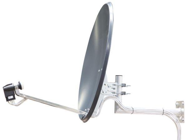 SAT-Spiegel TELESTAR, Stahl, 60 cm - Produktbild 4