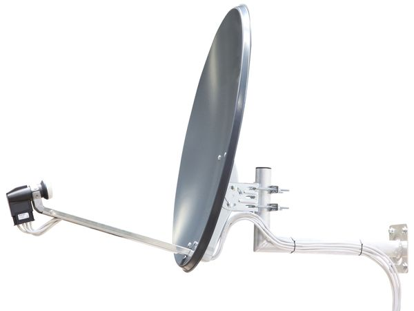 SAT-Spiegel TELESTAR, Stahl, 80 cm - Produktbild 3
