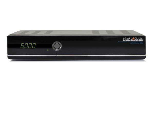 SAT HDTV-Receiver MEDI@LINK Black Panther 1 Card FTA premium magic - Produktbild 1