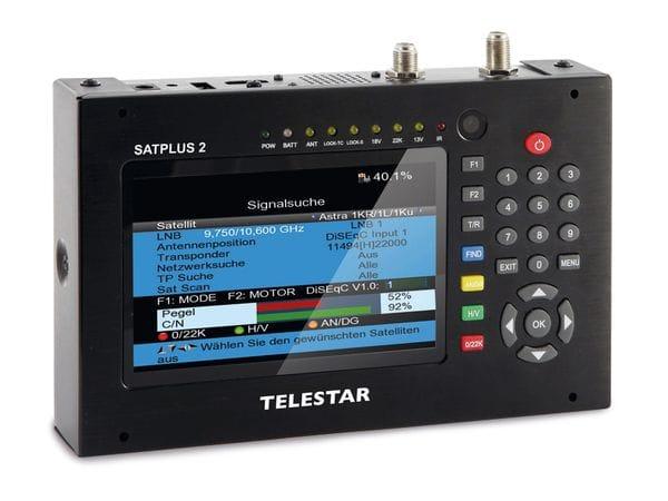 Antennenmessgerät TELESTAR SATPLUS 2, SAT/DVB-T/DVB-C - Produktbild 1