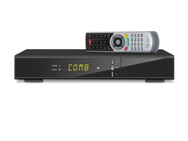 Combo DVB-S2/DVB-T FullHD-Receiver QVIART COMBO - Produktbild 1