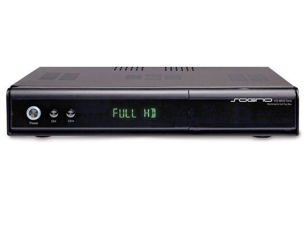 SAT/DVB-T/DVB-C HDTV Kombi-Receiver SOGNO HD8800 TWIN - Produktbild 1