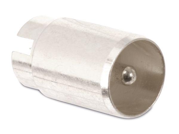 Koaxial-Stecker für Lötmontage - Produktbild 1