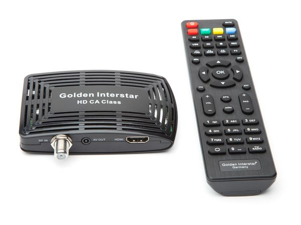 DVB-S HDTV-Receiver GOLDEN INTERSTAR HD CA CLASS - Produktbild 1