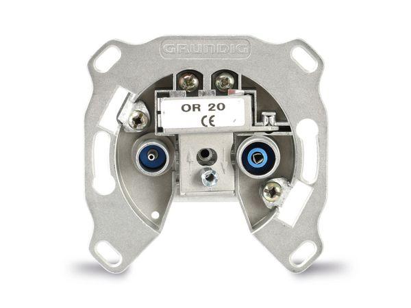 Antennendose GRUNDIG/GSS OR20, 1/20 dB - Produktbild 1