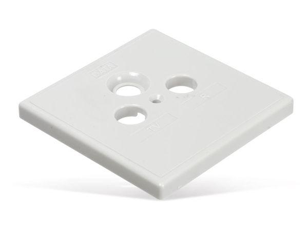 Abdeckplatte AXING SZU2-01, 80x80 mm - Produktbild 2