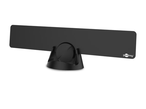 DVB-T Zimmerantenne GOOBAY, schwarz - Produktbild 1