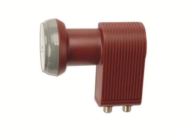 Universal Twin-LNB SCHWAIGER FLS992R 031, rot - Produktbild 1