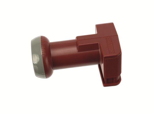 Universal Quad-LNB SCHWAIGER FLS995R 031, rot - Produktbild 1