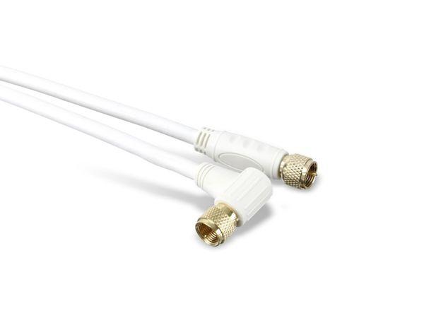 SAT-Antennenanschlusskabel, 2x F-Stecker, 110 dB, 10 m