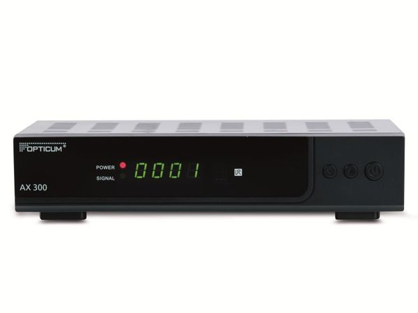 DVB-S HDTV-Receiver OPTICUM HD X300S plus, schwarz - Produktbild 1