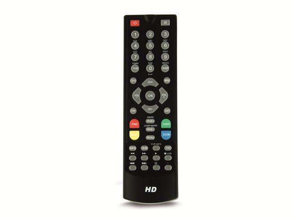DVB-S HDTV-Receiver RED OPTICUM HD X300S plus, schwarz - Produktbild 2