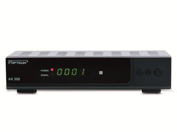 DVB-S HDTV-Receiver OPTICUM HD AX300, PVRready, schwarz - Produktbild 1