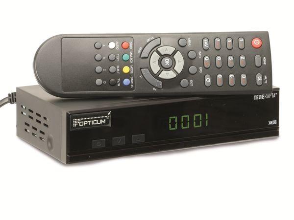 DVB-S Receiver OPTICUM X90, Scart - Produktbild 1