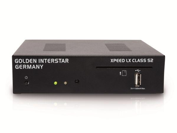 DVB-S HDTV-Receiver GOLDEN INTERSTAR Xpeed LX Class S2, Full HD, Linux - Produktbild 1