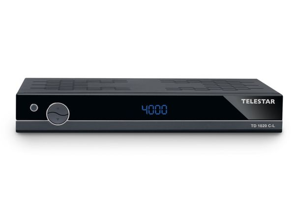 DVB-C Receiver TELESTAR TD 1020 C-L - Produktbild 1
