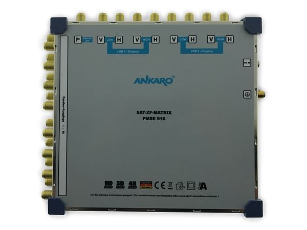 SAT-Multischalter ANKARO PMSE916, 9/16