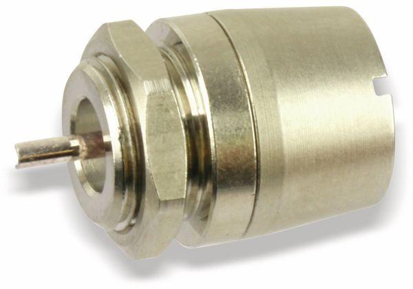 Koaxial-Einbaukupplung ROSENBERGER 27K501-200A1, 75 Ω - Produktbild 1