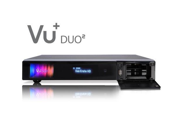 DVB-S HDTV-Receiver VU+ DUO², Twin Tuner, WLAN