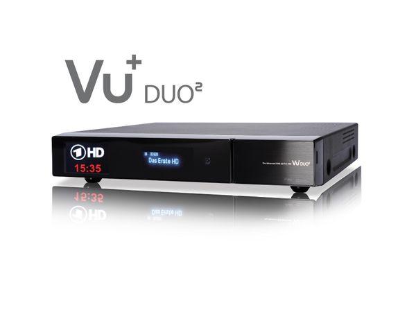 DVB-S HDTV-Receiver VU+ DUO², Twin Tuner, WLAN - Produktbild 2