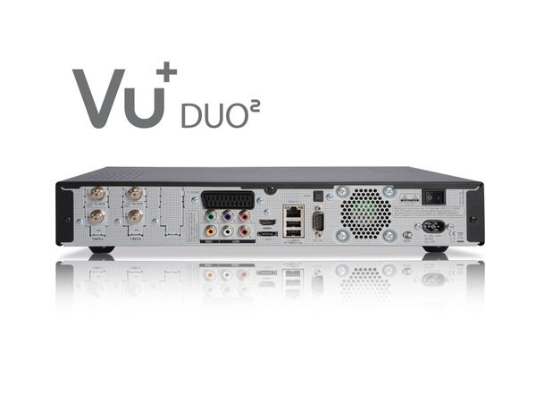 DVB-S HDTV-Receiver VU+ DUO², Twin Tuner, WLAN - Produktbild 3